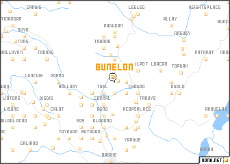 map of Bunelon