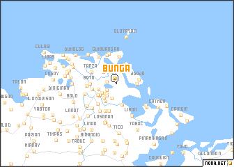 map of Buñga