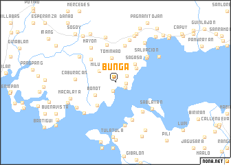 map of Bunga