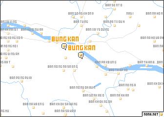 Nong Khai Thailand Map.Bung Kan Thailand Map Nona Net