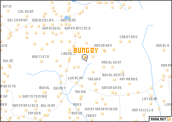 map of Bungoy