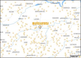 map of Bunguraši