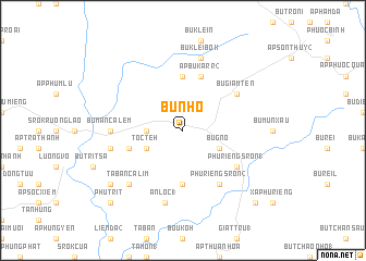 map of Bù Nho