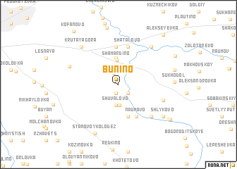 map of (( Bunino ))