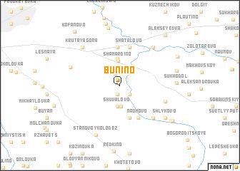 map of (( Bunino ))