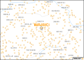 map of Bunjevci
