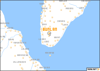 map of Bunlan