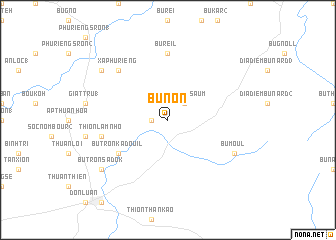 map of Bu Non