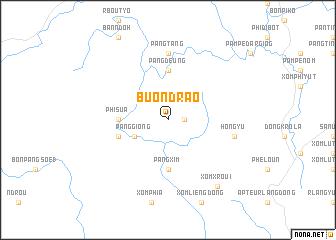 map of Buôn Drao