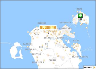 map of Bū Qūwah