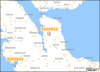 map of Burabud