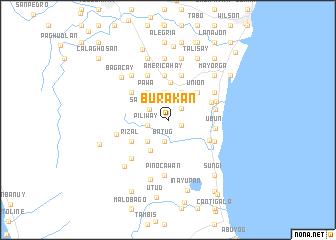 map of Burakan