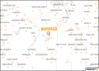 map of Burange