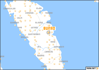 map of Burao