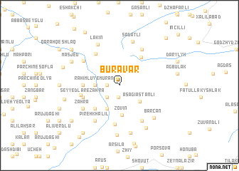 map of Buravar