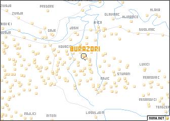 map of Burazori