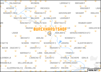 map of Burckhardtshof