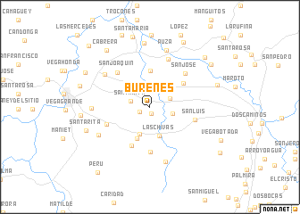map of Burenes