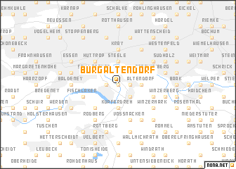 map of Burgaltendorf