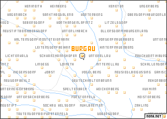 map of Burgau