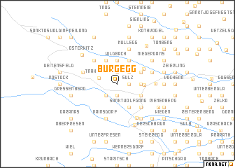 map of Burgegg