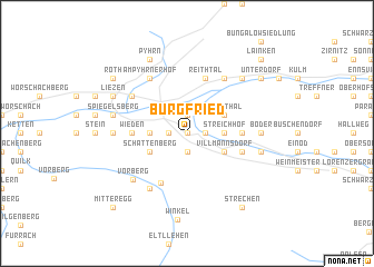 map of Burgfried