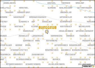 map of Burggrub