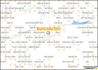 map of Burghausen