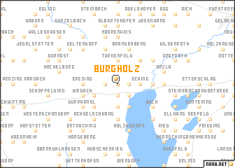 map of Burgholz