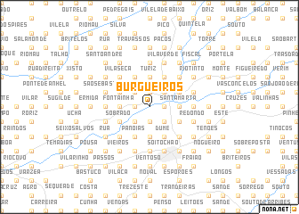 map of Burgueiros