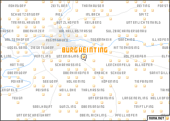 map of Burgweinting