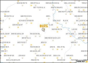 map of Burg
