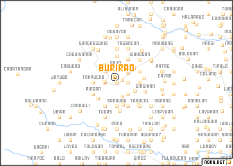 map of Burirao