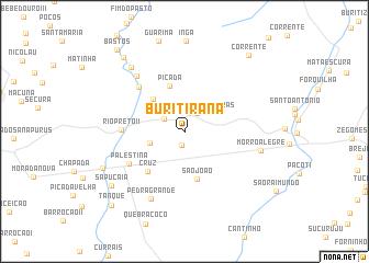 map of Buritirana