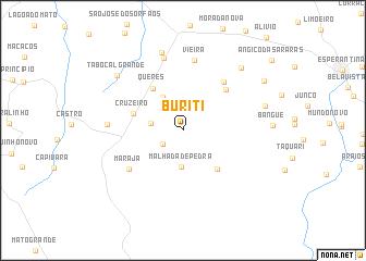 map of Buriti