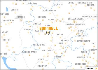 map of Burnwell