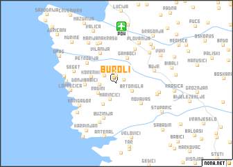 map of Buroli