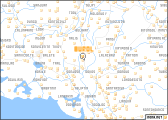 map of Burol