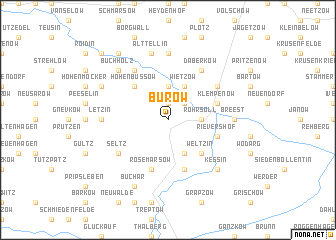 map of Burow