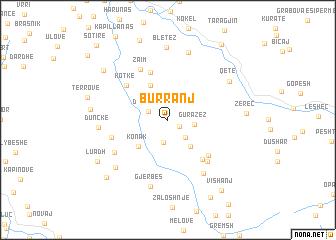 map of Burranj