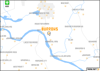 map of Burrows