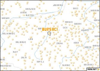 map of Bursaći
