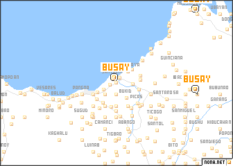 map of Busay