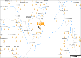 map of Busa