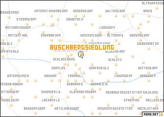 map of Buschbergsiedlung