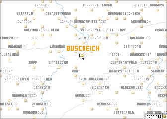 map of Büscheich