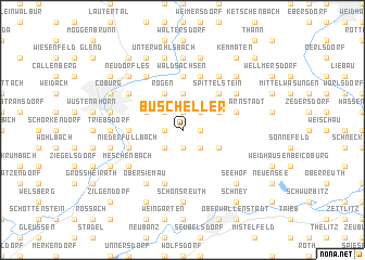 map of Buscheller
