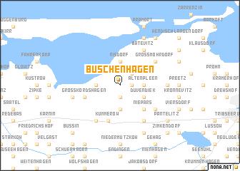 map of Buschenhagen