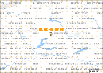 map of Buschsiepen