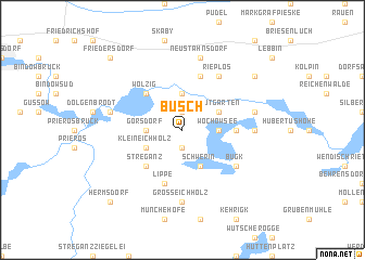 map of Busch